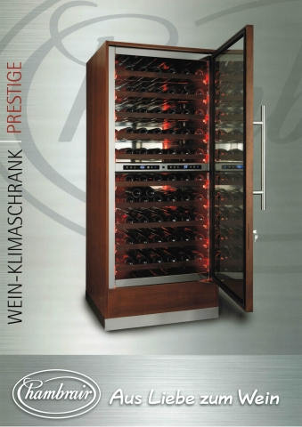 Chambrair Klimaschrank Prestige Vinum Bitburg Weinfachhandel